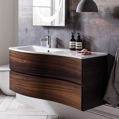 Bauhaus Svelte Basin Unit Available In 3 Colours Bathroom