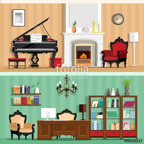 Image Result For Home Scenery Interior Clip Art Colorforms