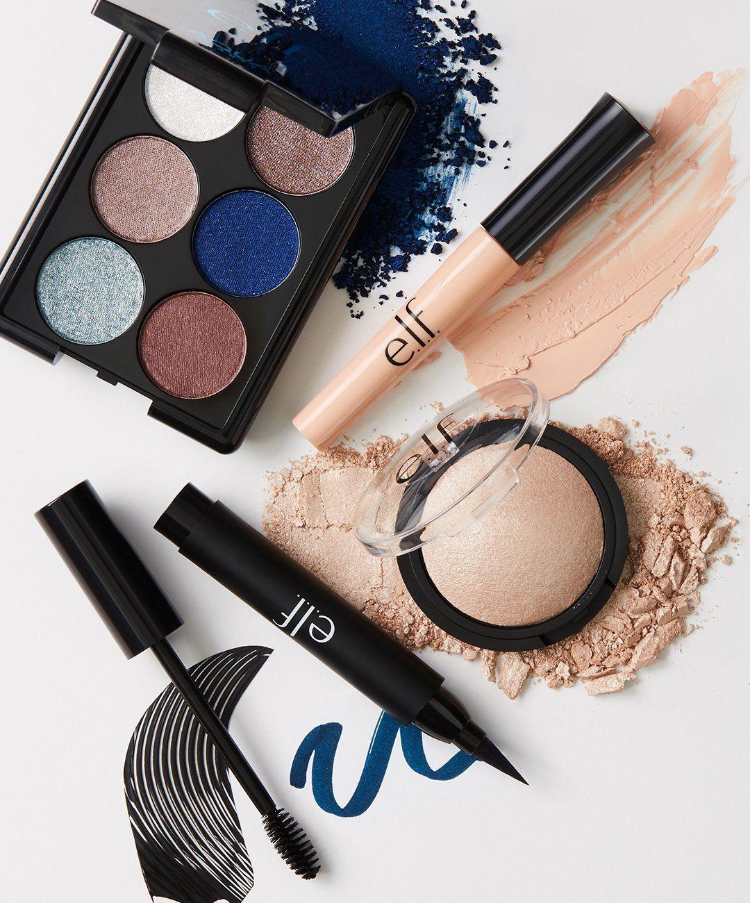 E.L.F. Cosmetics Navy Eye Bundle Makeup brands, Cheap