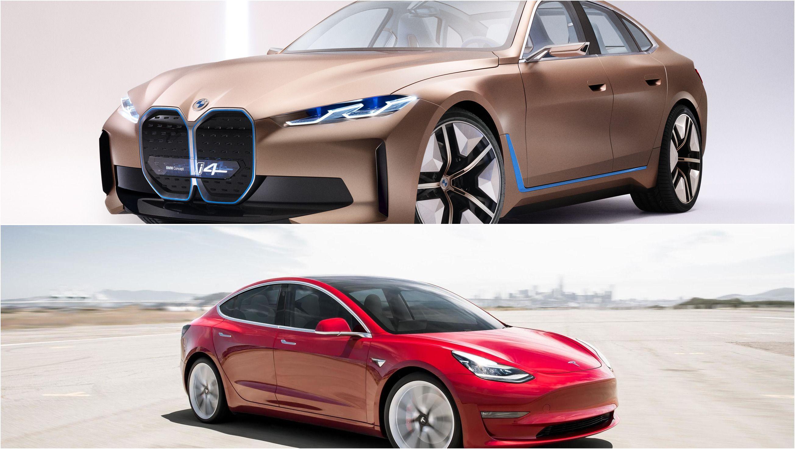 2021 Bmw I4 Vs 2020 Tesla Model 3 Top Speed In 2020 Tesla Model Bmw Tesla