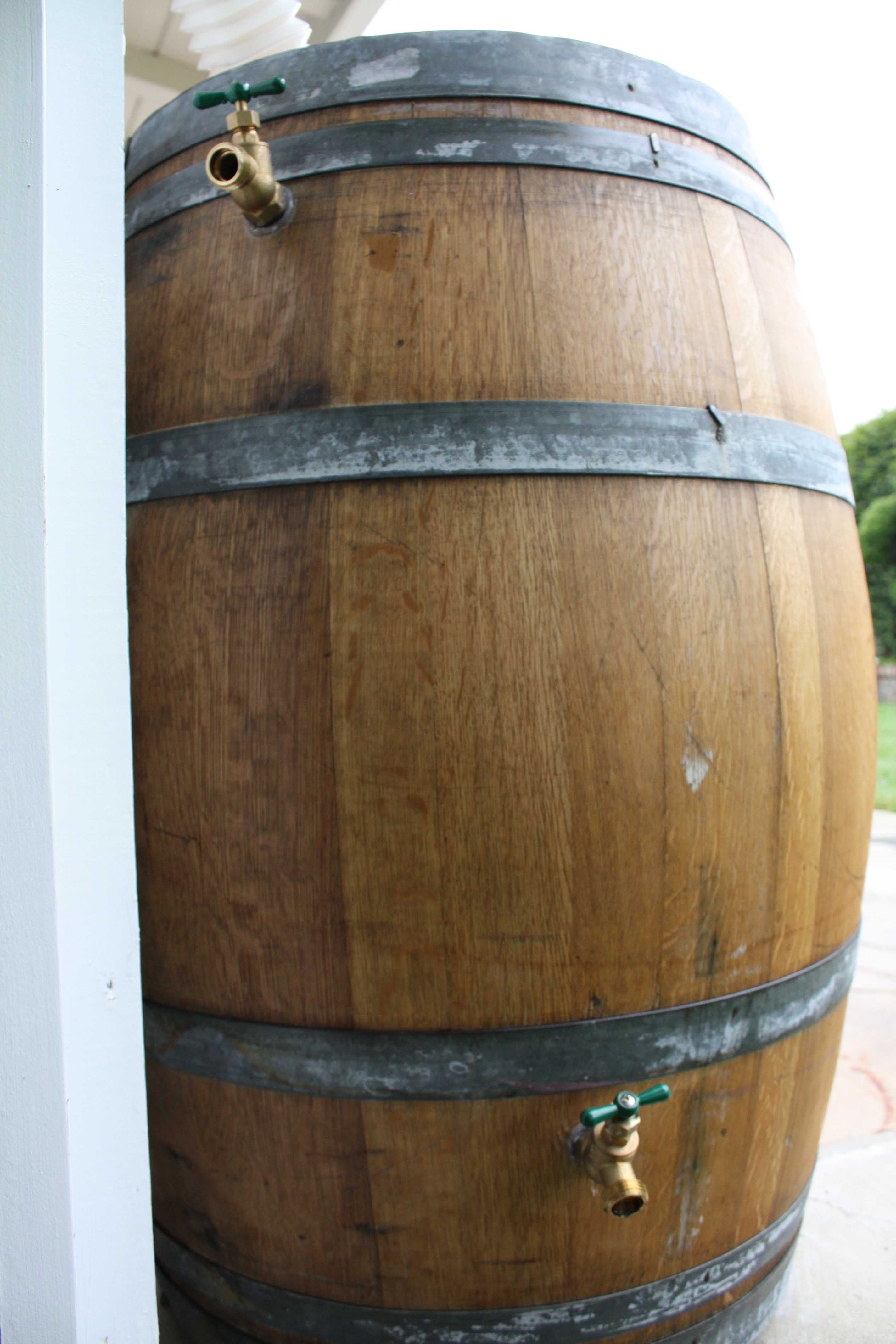 Drunken Plants Rain Barrel Rain Barrel System Barrel