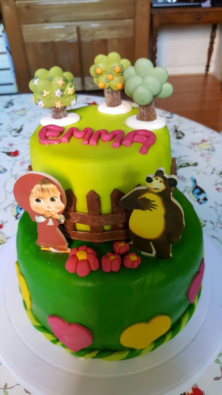 Gâteau Macha Et Michka En 2019 Michka