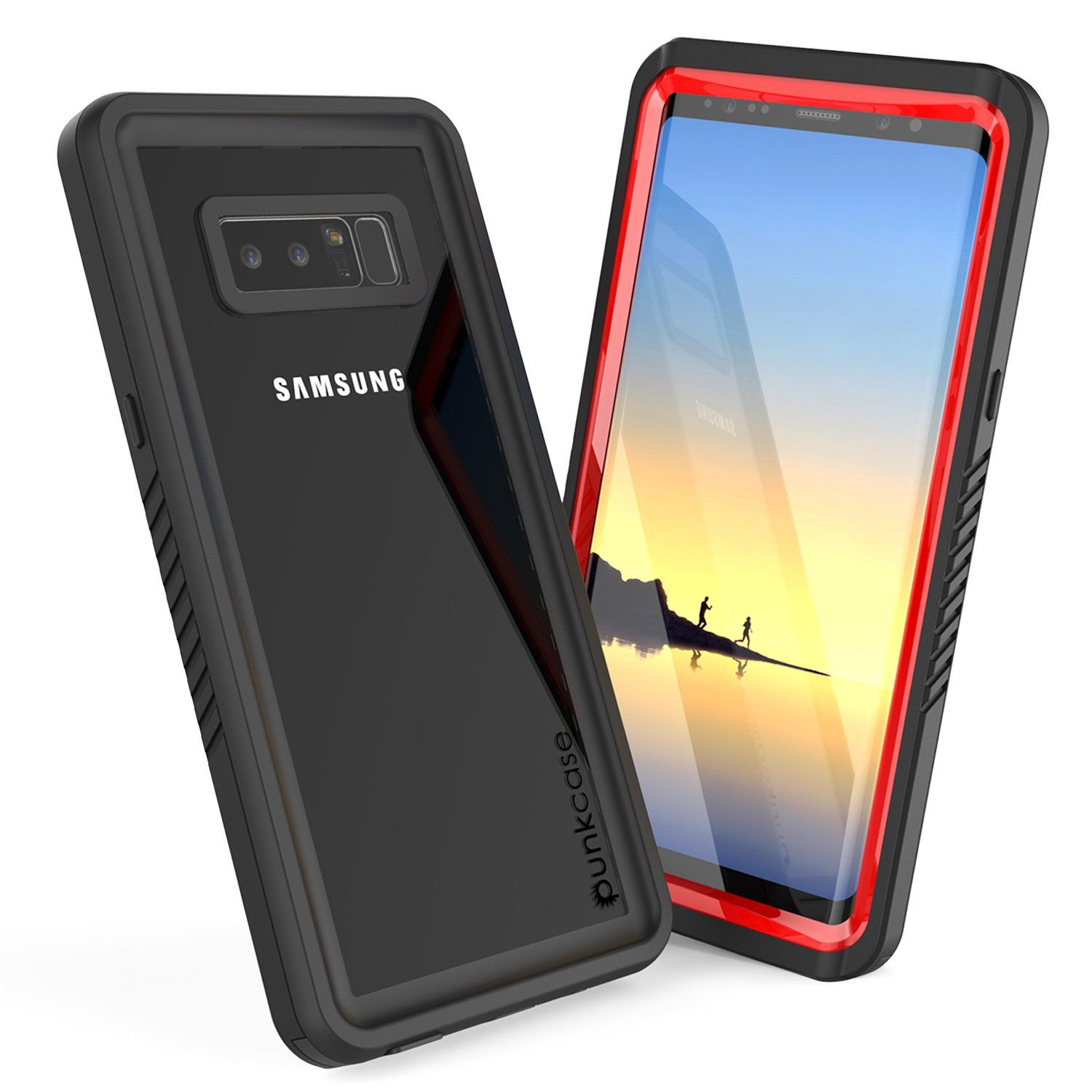 Galaxy Note 8 Anti Shock Screen Protector Slim Fit Case Red With Images Galaxy Galaxy Note 8 Galaxy Note