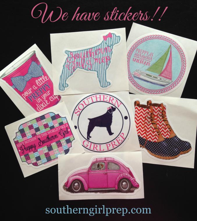 Check Out Our Cute Preppy Stickers Southern Prep Preppy