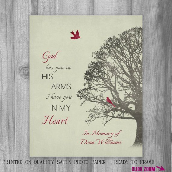 Remembrance Family Tree Grief Grieving Art Canvas Print