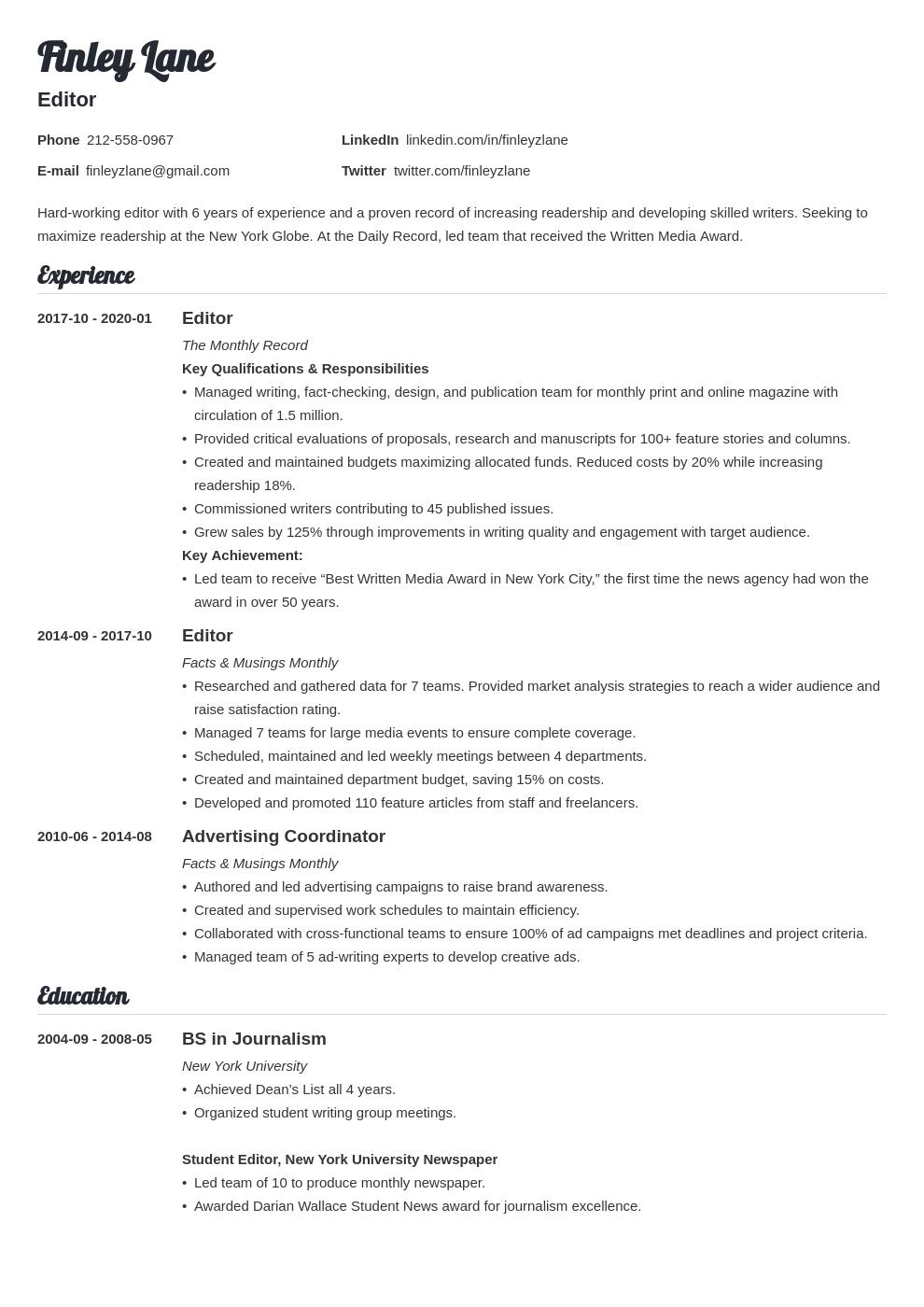 Editor Resume Example Template Valera Resume Examples Guided Writing Resume