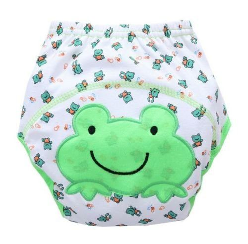 New Frog Cute Baby Infant Kids Toilet Pee Potty Training Pants Cloth