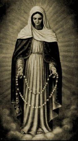 """""""Dadme un ejercito que rece el Rosario y lograré con el conquistar el mundo"""". SS. Pío X."""