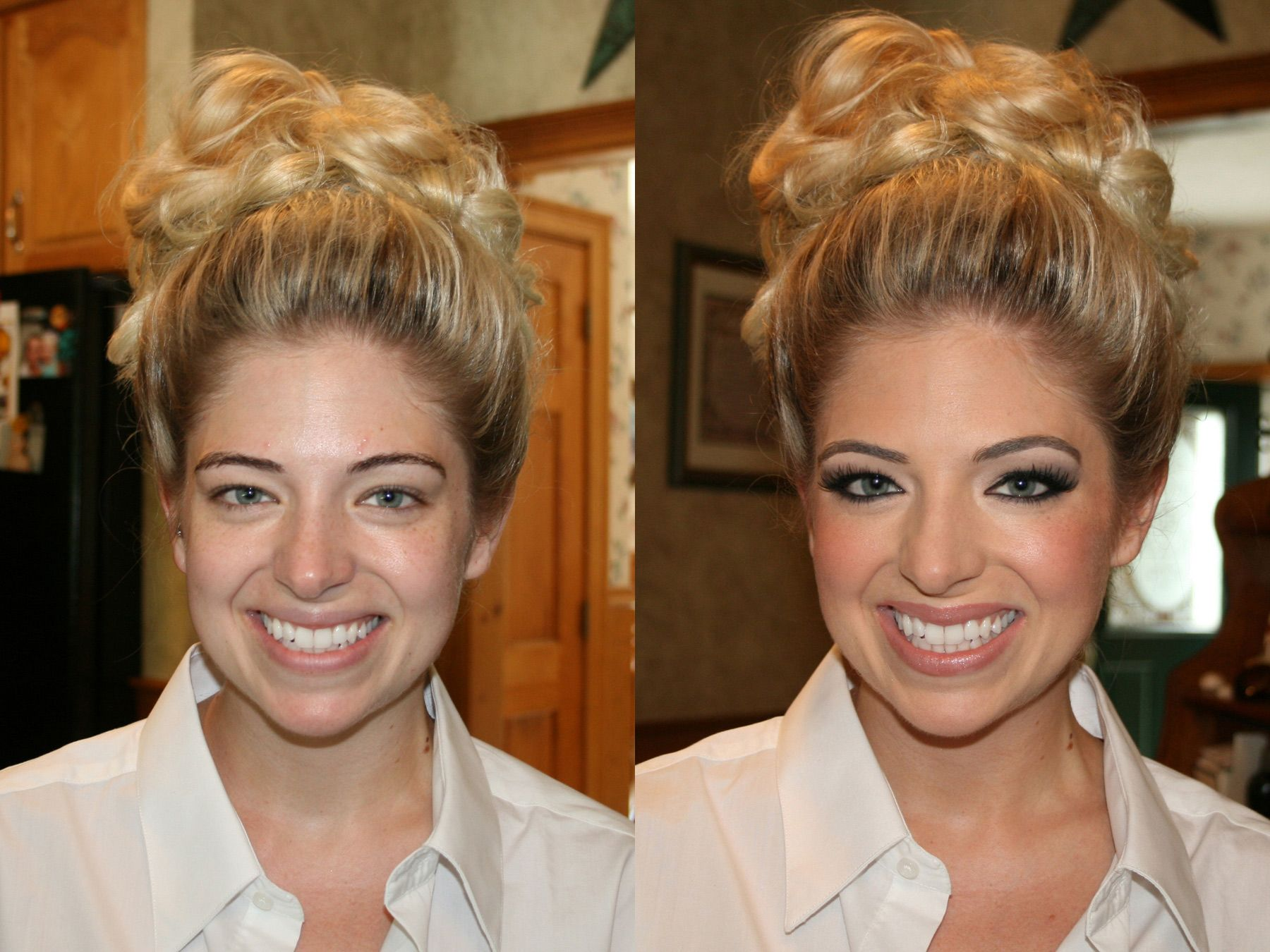 Bridal Before After Airbrush Makeup By Christy Lavallee