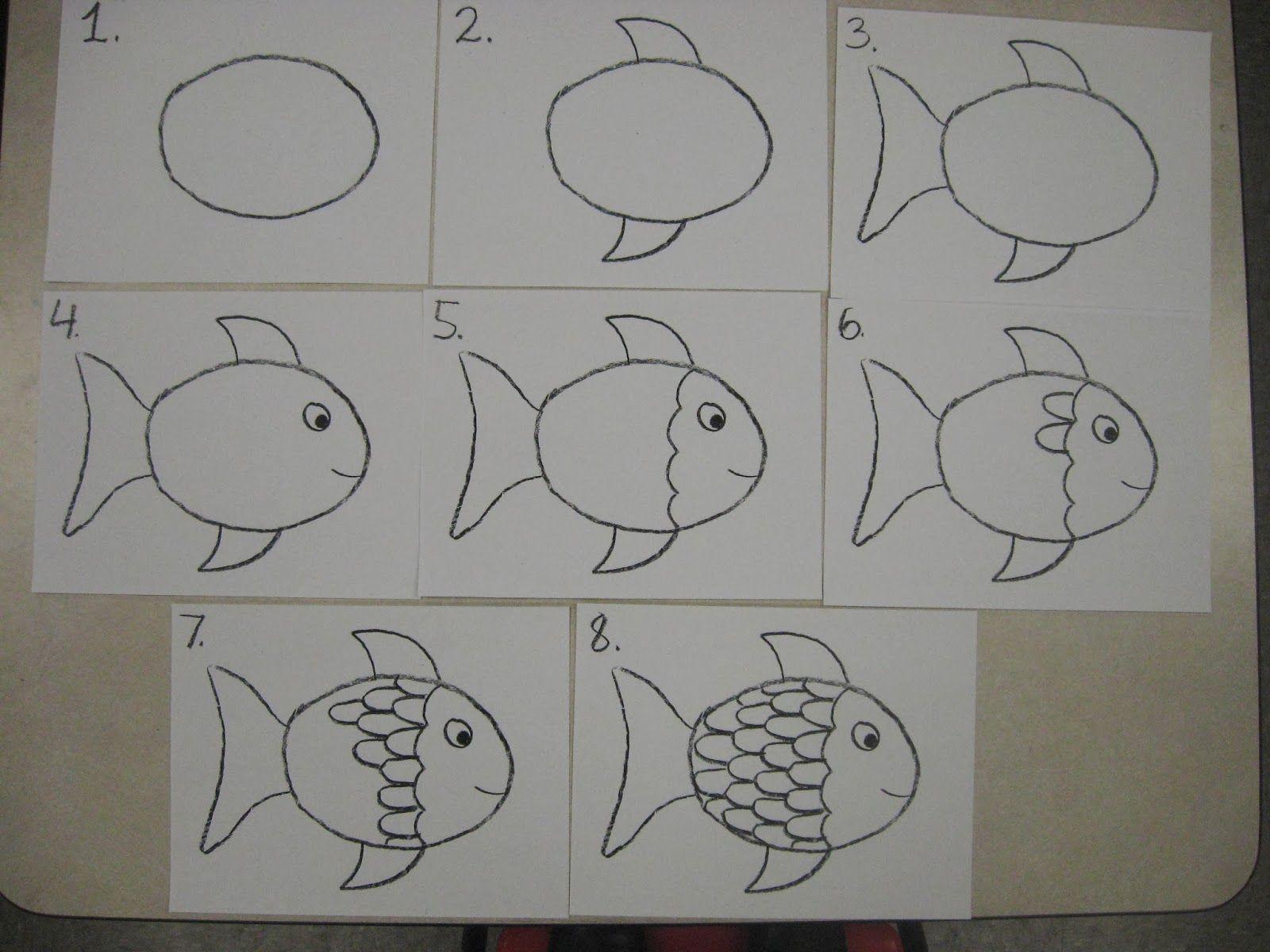 Miss Young S Art Room Rainbow Fish Sub Plan
