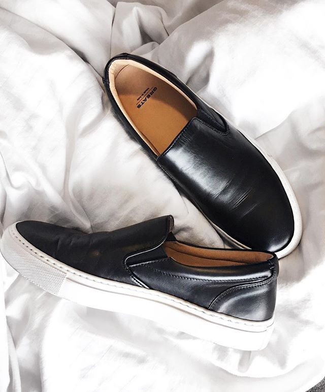 Greats - The Wooster Slip On - Nero