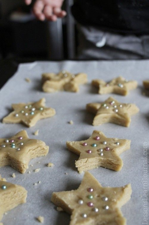 Kids Cookies Stars For Toddler Bakers With Images Baking With