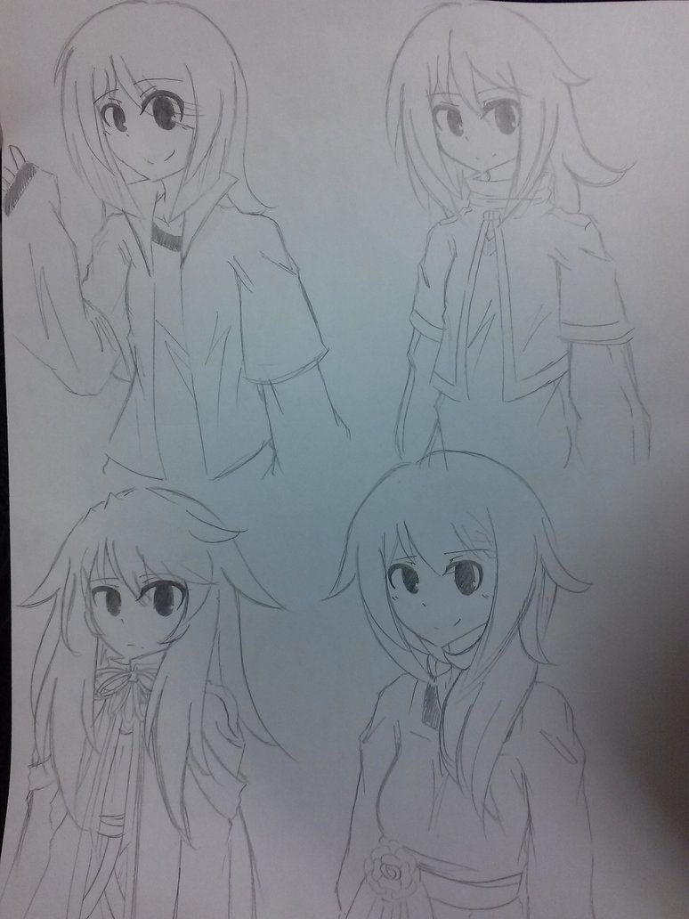 OC doodles p1 by imboredom on DeviantArt