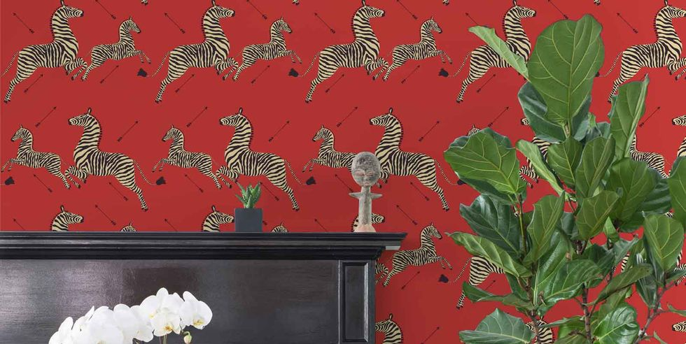 These Iconic Wallpapers Now Come In Peel And Stick In 2020 Iconic Wallpaper Self Adhesive Wallpaper Temporary Wallpaper