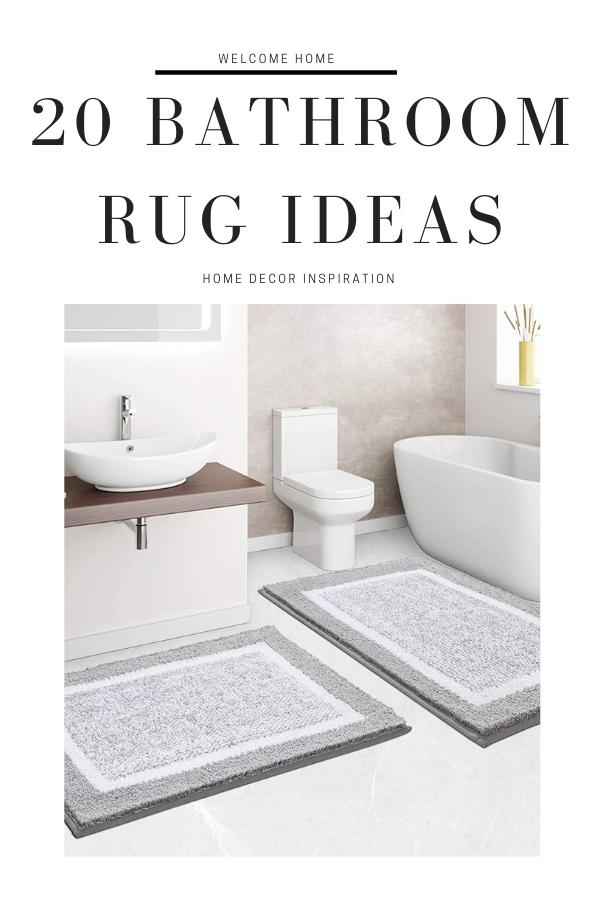 20 BATHROOM RUG IDEAS#bathroom rug ideas#bathroomdecor#homedecor#homediy