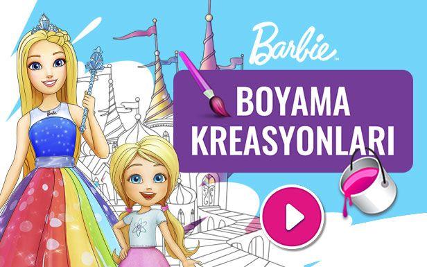 Barbie Kizi Susleme Oyunu Oyna Kartun Barbie Gambar Kartun