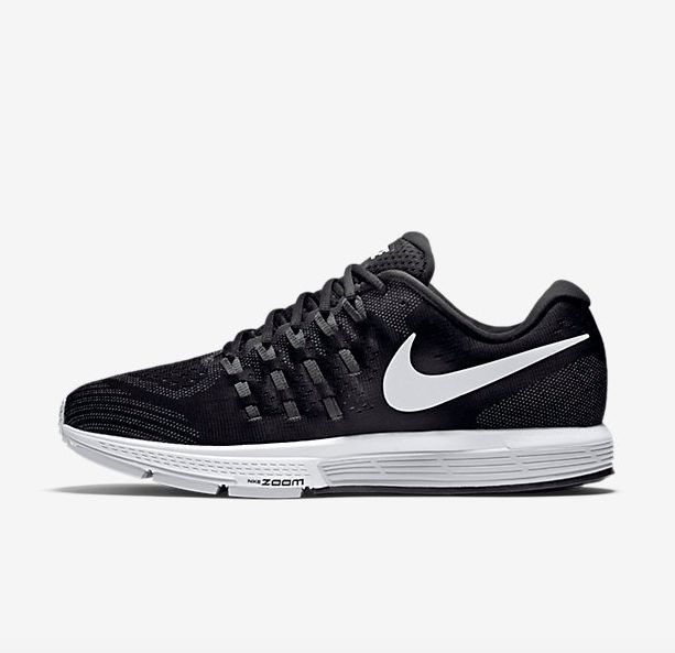 NIKE MEN AIR ZOOM VOMERO RUNNING SHOE BLACK 818099-001'