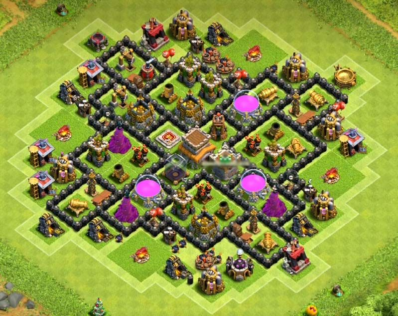 Strong Base Coc Th 8 8