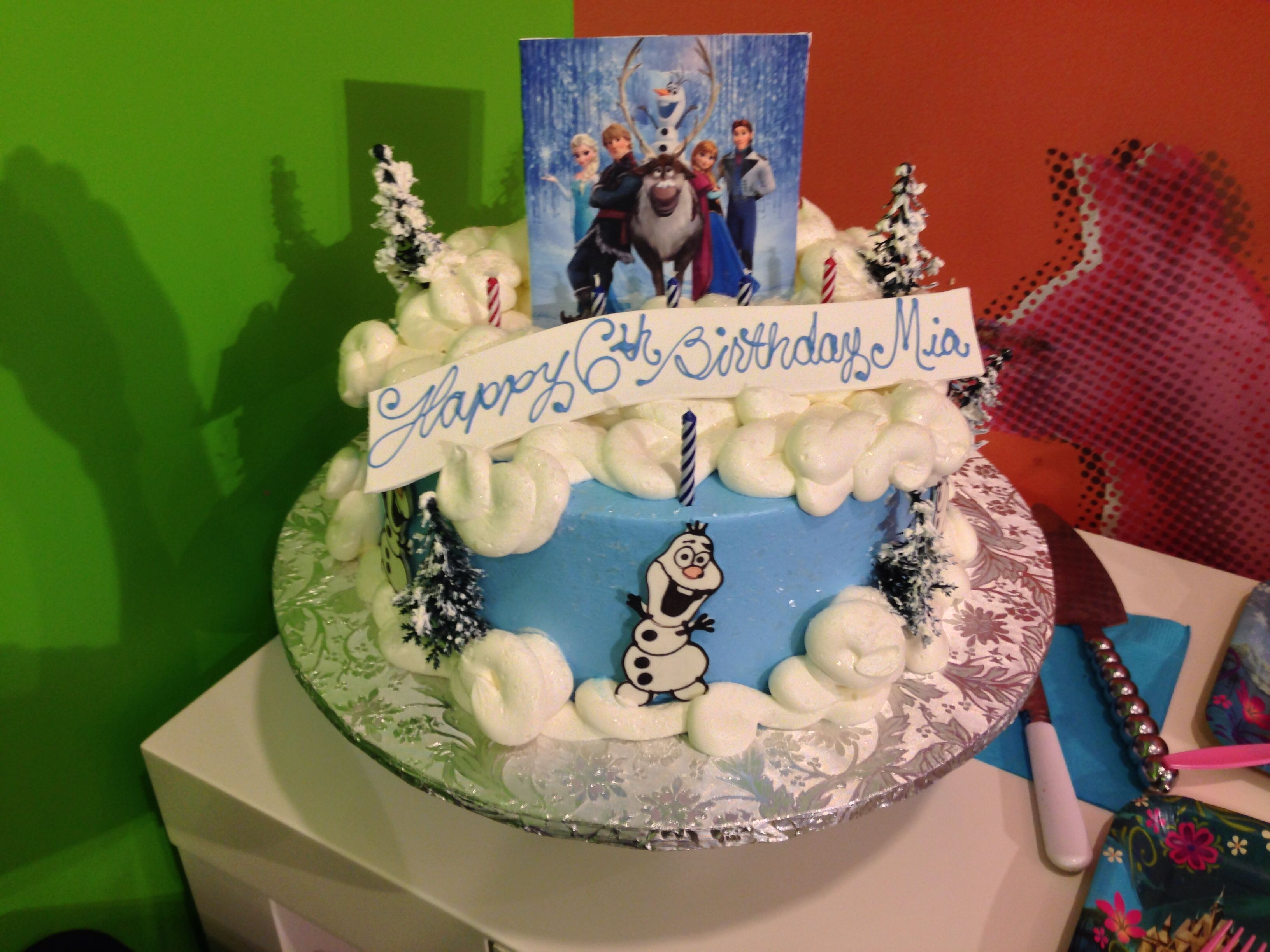 Disneys Frozen Birthday Cake From Konditor Meister In Ma Girls