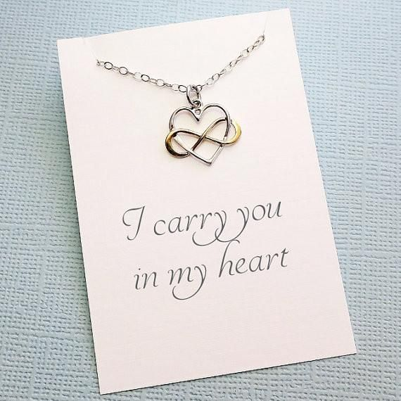 Miscarriage necklace infinity heart necklace miscarriage quote miscarriage necklace infinity heart necklace miscarriage quote sympathy gift condolence infant aloadofball Choice Image