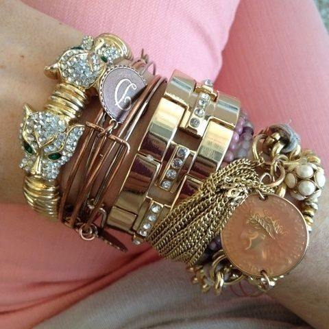 What other arm Candy do U stack w/ your Cartier Love