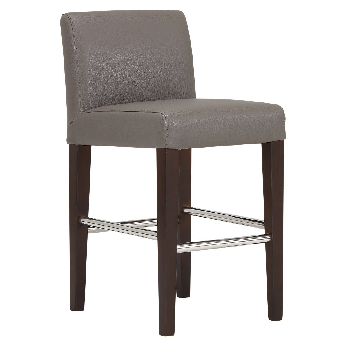 Miraculous Cane Gray Micro 24 Upholstered Barstool Dining Room Onthecornerstone Fun Painted Chair Ideas Images Onthecornerstoneorg