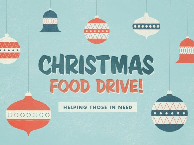 Pin by Gabriella Giacomin on natale Pinterest Food drive - can food drive flyer template