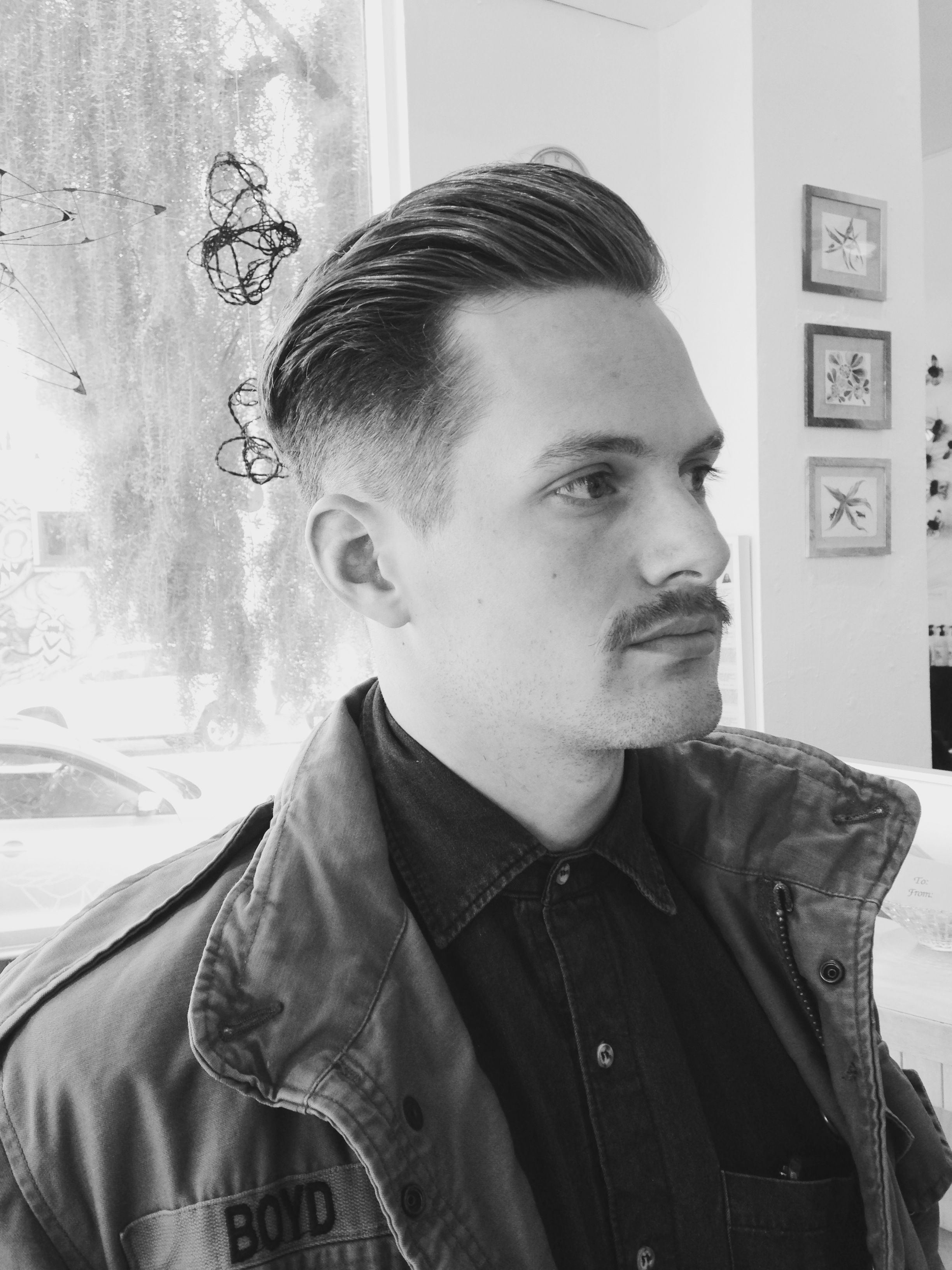 Coiffure Homme Retro Dapper Mens Haircut By Seana Edo Salon My Style
