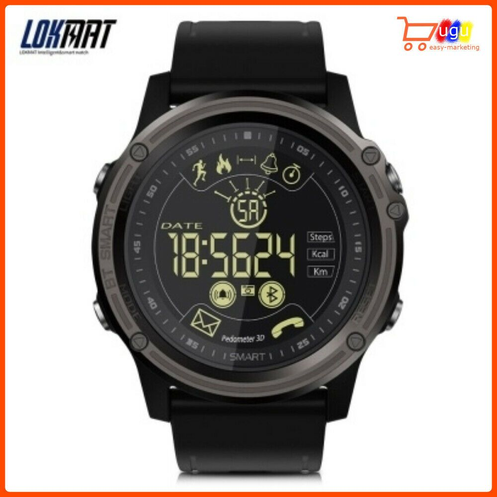 LOKMAT EX26 Digital Clock Men Bluetooth Smart Watch Sport