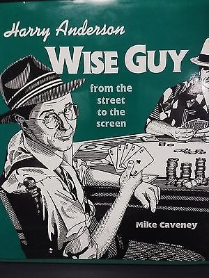 Harry Anderson WISE GUY Mike Caveney Book Magic Con Busking Street performering Collectibles:Fantasy, Mythical & Magic:Magic:Tricks www.webrummage.com $39.99