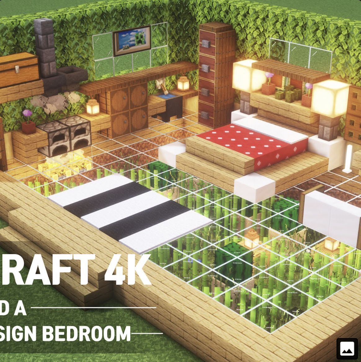 Minecraft Desing Bedroom Bedroom Desing Minecraft Minecraftcreations Minecraft Houses Easy Minecraft Houses Minecraft Decorations