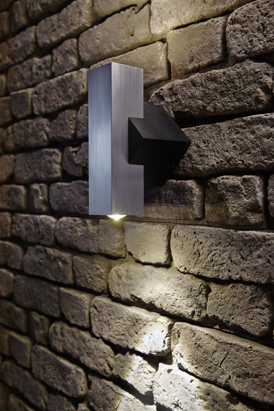 Up Down Square Exterior Wall Light Wall Wash Lighting Garden Exterior Lighting Exterior Wall Light