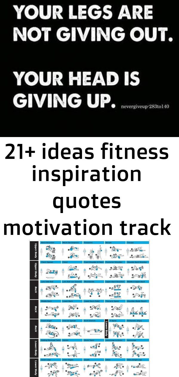21 ideas fitness inspiration quotes motivation track for 2019 3 21 Ideas Fitness Inspiration Quotes Motivation Track For 2019 Quotes about strength sports training 40 ide...