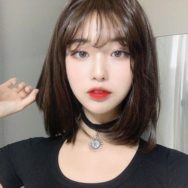 Ulzzang Girl Short Hair Cute Korean Girl Ulzzang Hair Girl Hairstyles Korea Jente Kort Har Kort Har Jentefrisyrer