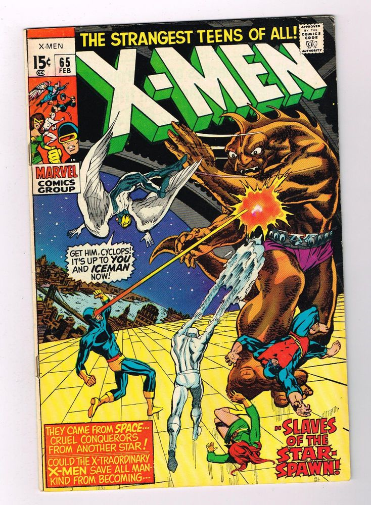 Uncanny X Men 65 Cool Bronze Age Find From Marvel Grade 7 5 Http Www Ebay Com Itm Uncanny X Men 65 Cool Bronze Ag With Images Silver Age Comics Comics X Men