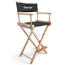 Folding Chairs On Film Set Google Search Directors Chair Chair Covers Chair