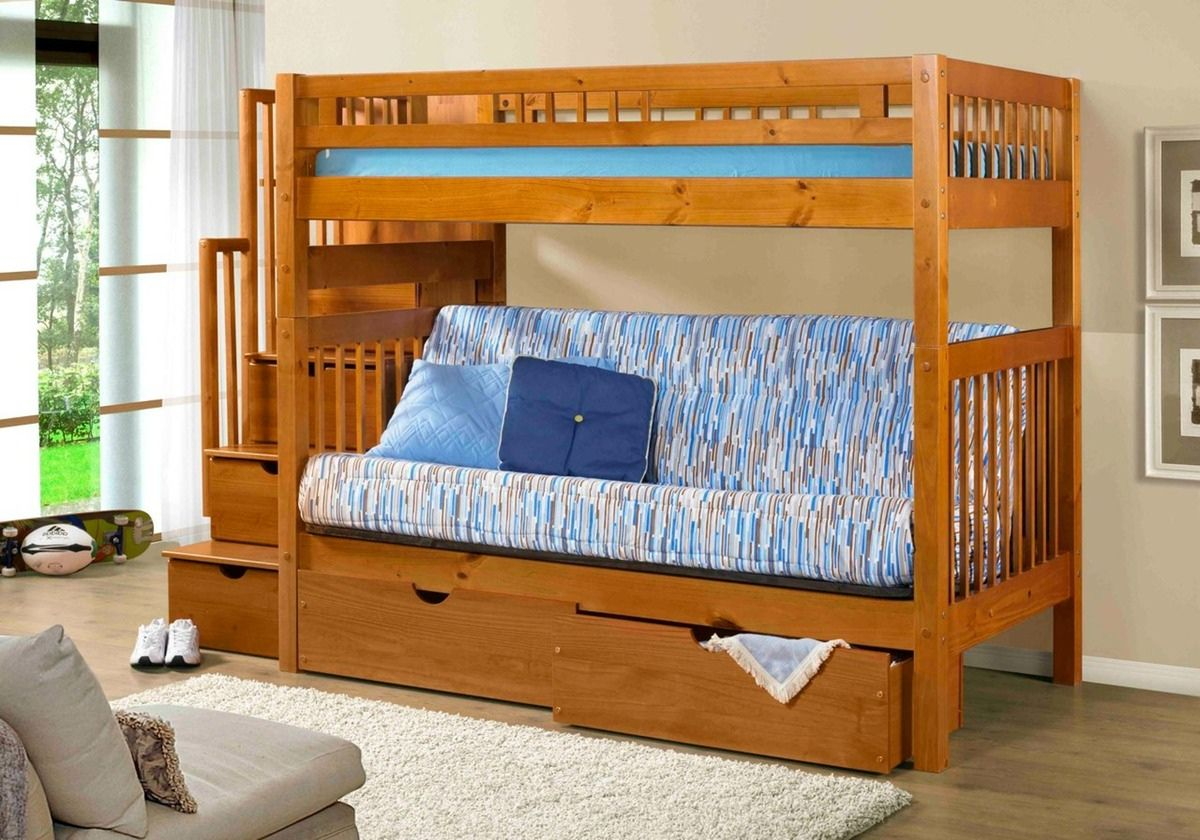 Bunk Beds With Futon Bottom Best Interior Paint Brand Check More