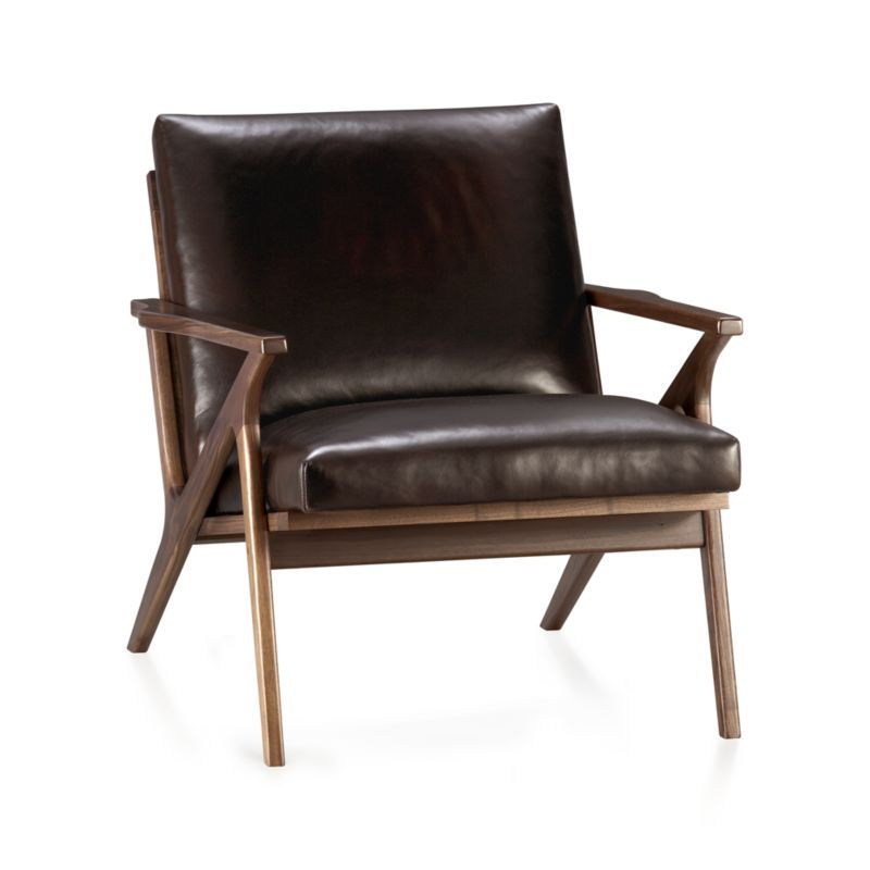 Attractive Cavett Leather Chair