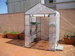 Resultado de imagen para invernaderos peque os gardens pinterest invernadero peque os y - Invernadero casero terraza ...