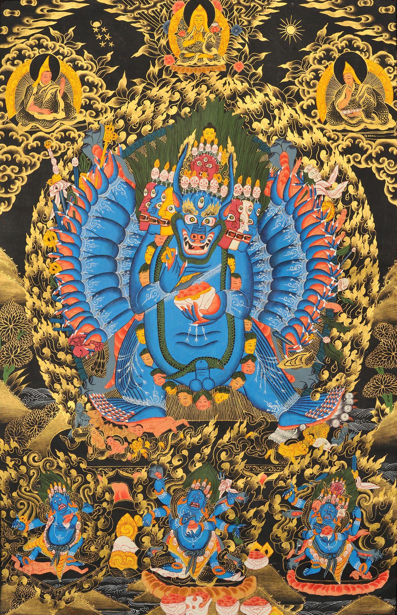 Yamantaka Буддизм, Тантра