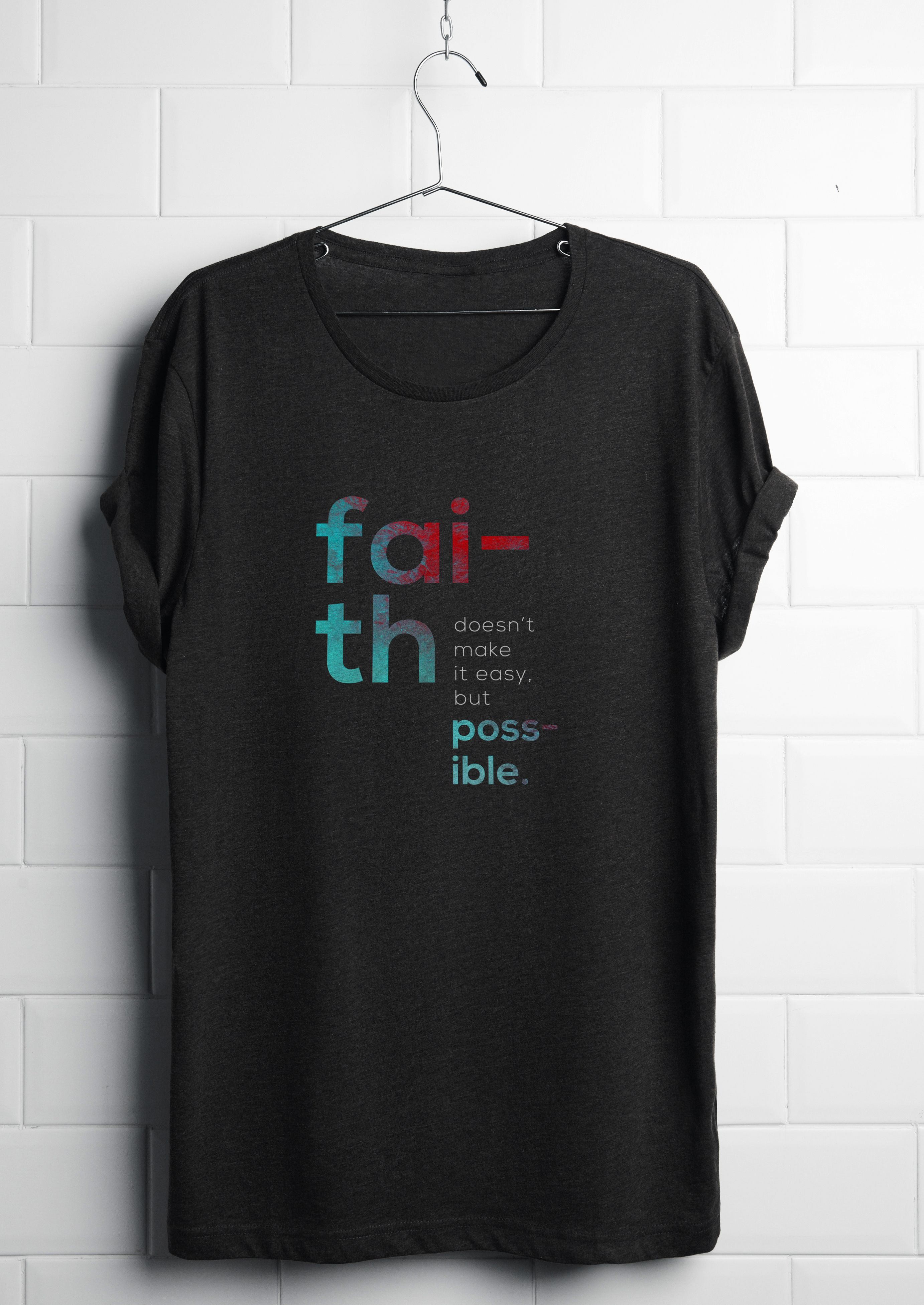 "Check out this  Behance project  ""Faith t-shirt design."" https 35217e45ed19"