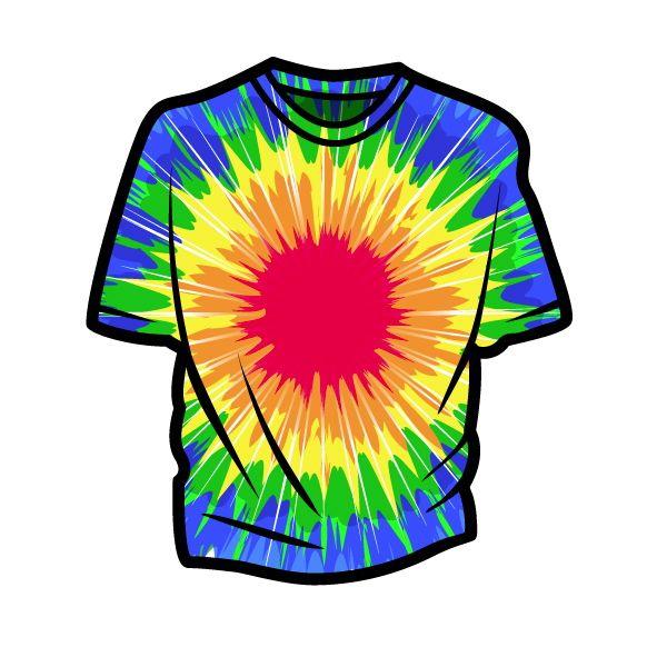10+ Tie dye day clipart ideas in 2021