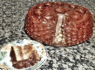 Bolo de Mousse de Nutella e Cobertura de Ganache - Receitas de Mãe