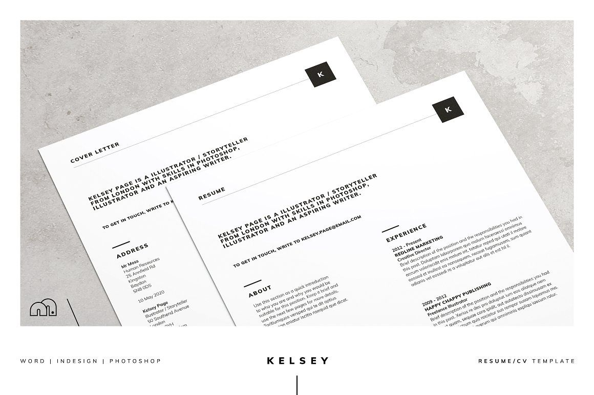For Those Looking For A Professional Template Kelsey Offers A