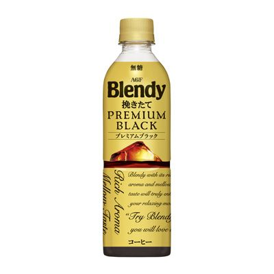 ブレンディ ボトルコーヒー 挽きたてプレミアムブラック 食 新製品 新製品 から食の今と明日を見る ブレンディ コーヒー コーヒー飲料