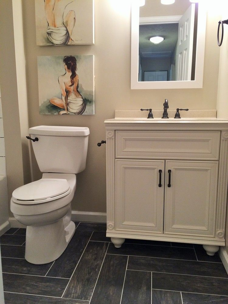 Classic Guest Bath By BlankSpace LLC Pittsburgh PA WoodLook - Bathroom stores in pittsburgh pa