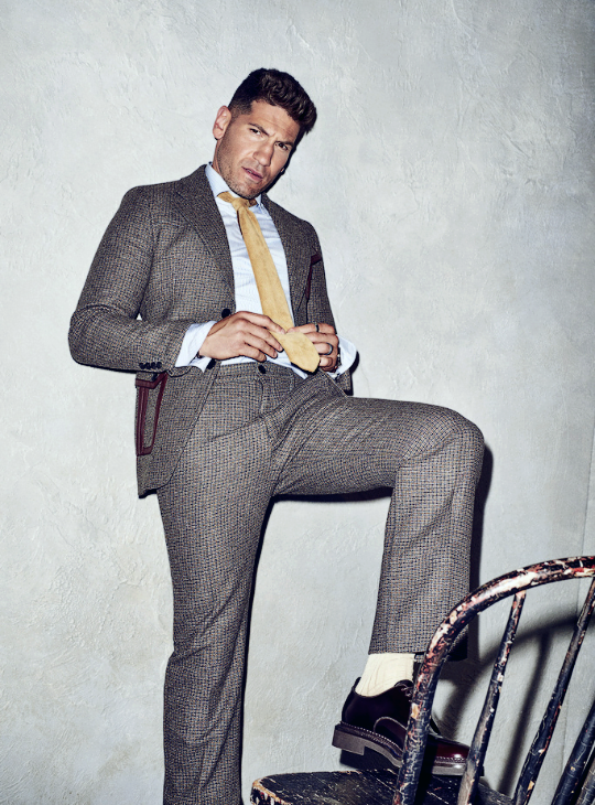 Jon Bernthal photographed by Eric Ray Davidson for GQ, July 2017