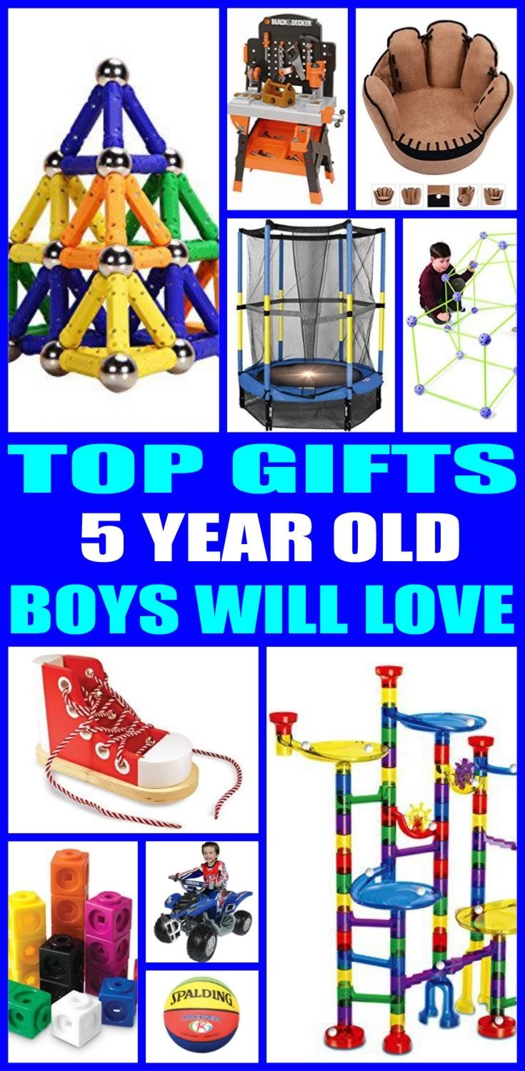 Top Gifts For 5 Year Old Boys Here Are The Best That Special 5th Birthday Or His Christmas Present Five Will Love Any Of