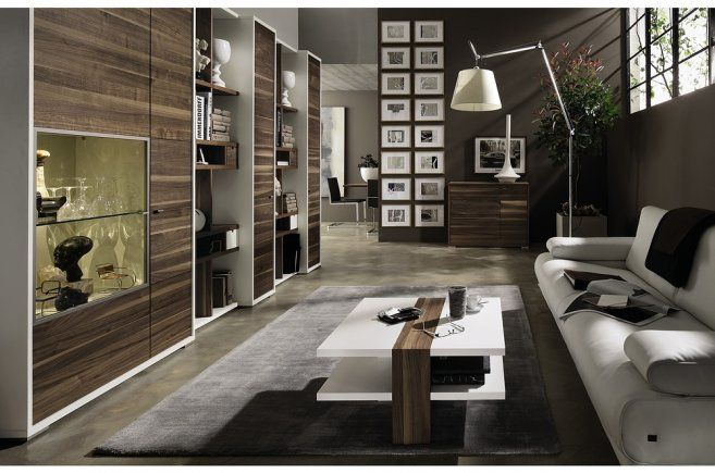 Combination of Fashion and Coziness Living Room Furniture: Classic Wooden Cupboard Furnishing For Modern Looking Living Room Best Picture 01