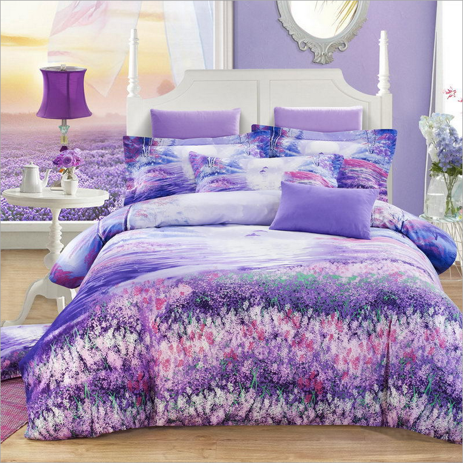 Best Newly Wed Or Not This Eye Catching Bedding Set Will Light 400 x 300